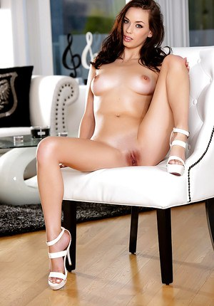 Shaved Pussy and Heels